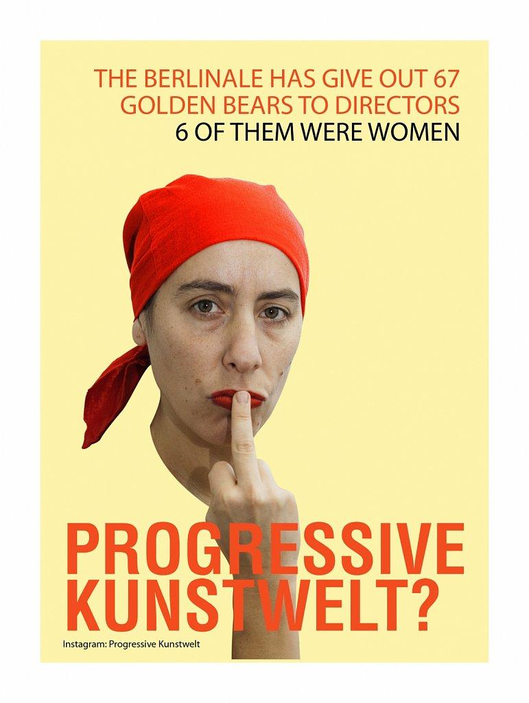 Progressive Kunstwelt?